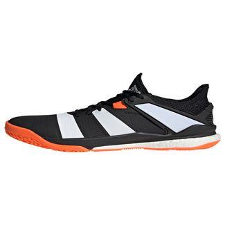 adidas Stabil X Schuh Sneaker Herren Core Black / Cloud White / Solar Orange
