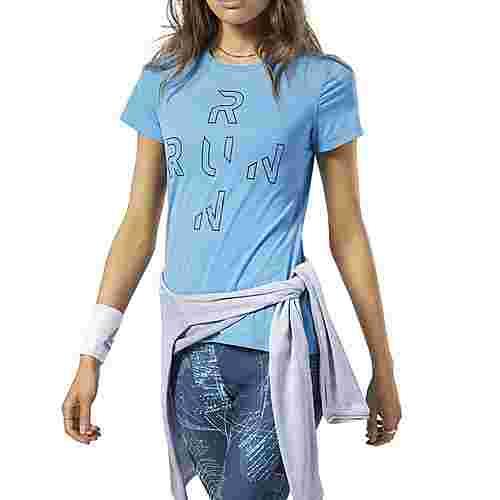 Reebok One Series Running ACTIVCHILL T-Shirt Funktionsshirt Damen Türkis