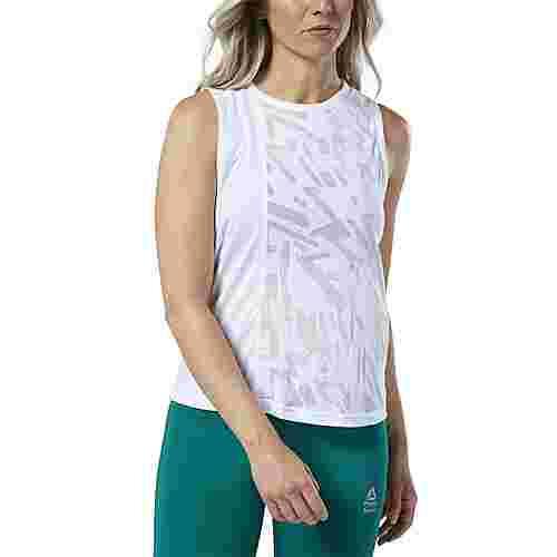 Reebok Reebok CrossFit® Burnout Tanktop Funktionstop Damen Weiß