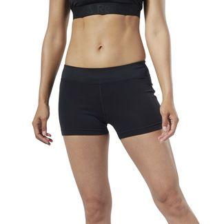 Reebok Workout Ready Hot Shorts Funktionsshorts Damen Schwarz