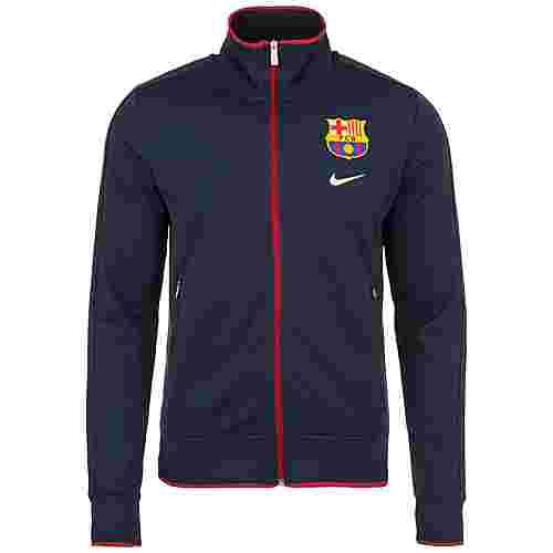 Nike FC Barcelona N98 Sweatjacke Herren dunkelblau / rot