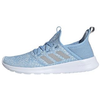 adidas Cloudfoam Pure Schuh Laufschuhe Damen Glow Blue / Grey Two / Real Blue