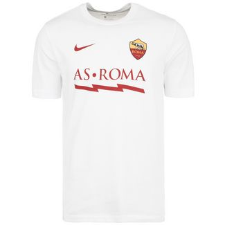 Nike AS Rom Core Match Fanshirt Herren weiß