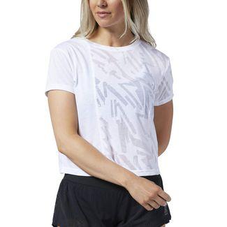 Reebok Reebok CrossFit® Burnout T-Shirt Funktionsshirt Damen Weiß