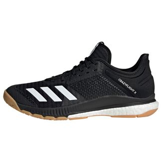 adidas Crazyflight X 3 Schuh Sneaker Damen Core Black / Cloud White / Gum M1