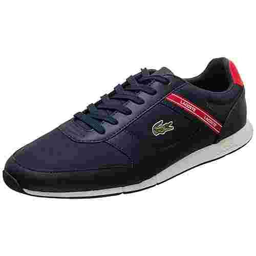 Lacoste Menerva Sport Sneaker Herren dunkelblau / rot