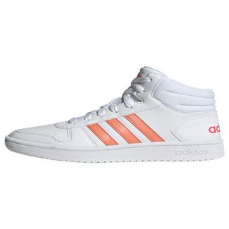 adidas Hoops 2.0 Mid Schuh Sneaker Kinder Ftwr White / Real Pink / Real Pink