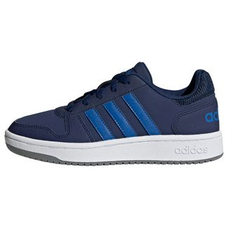 adidas Hoops 2.0 Schuh Sneaker Kinder Dark Blue / Blue / Grey Three