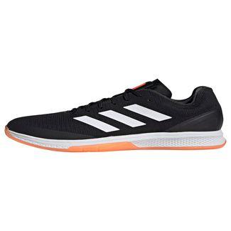 adidas Counterblast Bounce Schuh Hallenschuhe Herren Core Black / Cloud White / Solar Orange