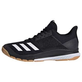 adidas Crazyflight Bounce 3 Schuh Sneaker Damen Core Black / Cloud White / Gum M1
