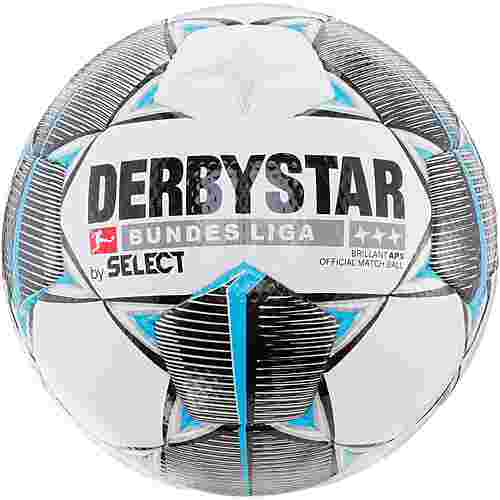 Derbystar Brilliant Bundesliga 19/20 APS Fußball weiß schwarz petrol