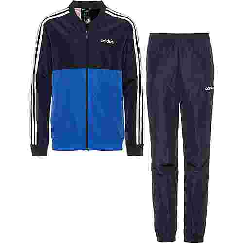 adidas Woven Trainingsanzug Kinder blue