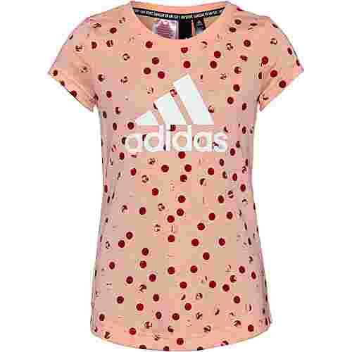 adidas T-Shirt Kinder glow-pink
