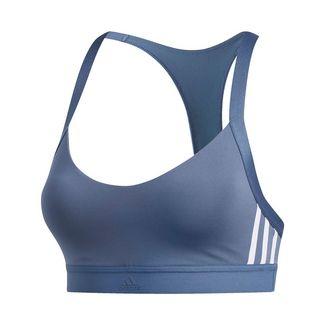 adidas All Me 3-Streifen Sport-BH Sport-BH Damen Blau