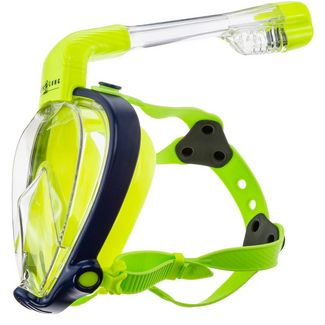 AQUA LUNG SMART SNORKEL JR Schnorchelset Kinder navy blue-bright yellow