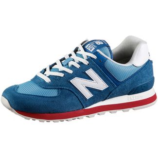 NEW BALANCE ML574 Sneaker Herren blue-red