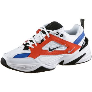 Nike M2K Tekno Sneaker Herren summit white-black-team orange