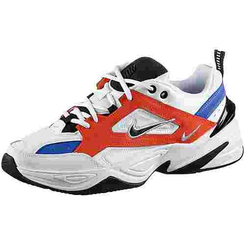Nike M2K Tekno Sneaker Herren summit white-black-team orange
