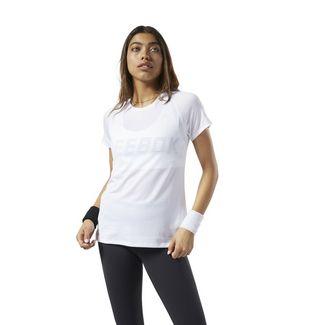 Reebok SmartVent T-Shirt Funktionsshirt Damen Weiß
