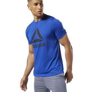 Reebok Workout Ready Supremium T-Shirt Funktionsshirt Herren Cobalt