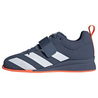 adidas Adipower 2 Gewichtheberschuh Sneaker Damen Tech Ink / Cloud White / Hi-Res Coral