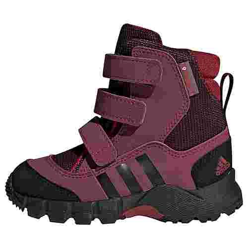 adidas Holtanna Snow Schuh Sneaker Kinder Active Maroon / Core Black / Maroon