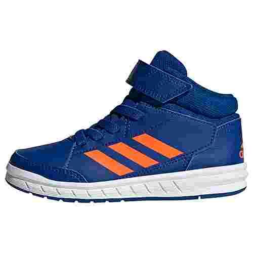 adidas AltaSport Mid Schuh Sneaker Kinder Collegiate Royal / Solar Orange / Cloud White