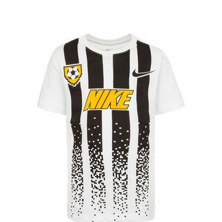 Nike Soccer Jersey T-Shirt Kinder weiß / schwarz