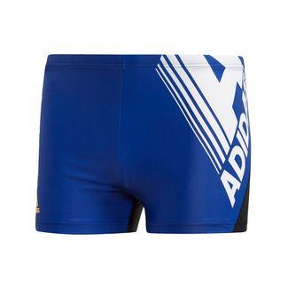 adidas Logo Fitness Boxer-Badehose Badehose Herren Collegiate Royal