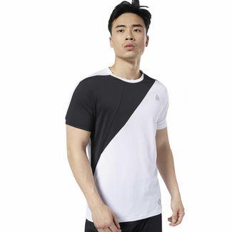 Reebok LES MILLS™ Blocked T-Shirt Funktionsshirt Herren Weiß