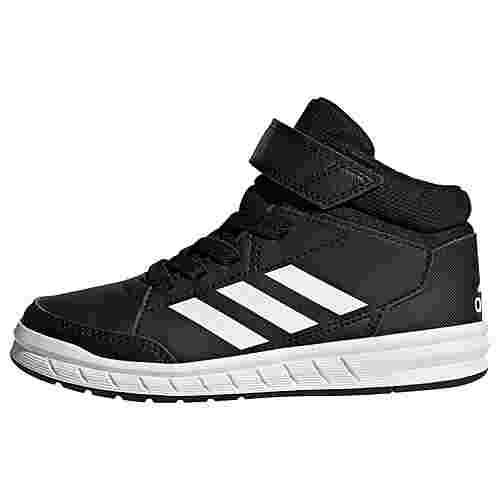 adidas AltaSport Mid Schuh Sneaker Kinder Core Black / Cloud White / Cloud White
