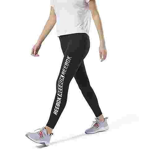 Reebok Studio Reebok Lux Tight – Graphic Tights Damen Schwarz