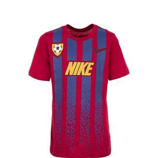 Nike Soccer Jersey T-Shirt Kinder rot / blau