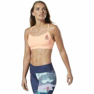 Reebok Reebok CrossFit® Medium-Impact Bra Sport-BH Damen Sunglow