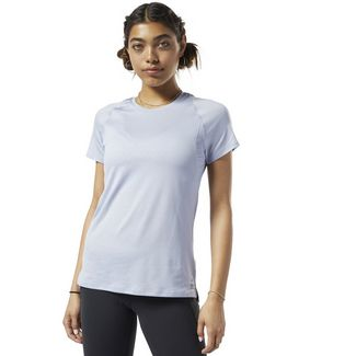 Reebok SmartVent T-Shirt Yogashirt Damen Denim Dust