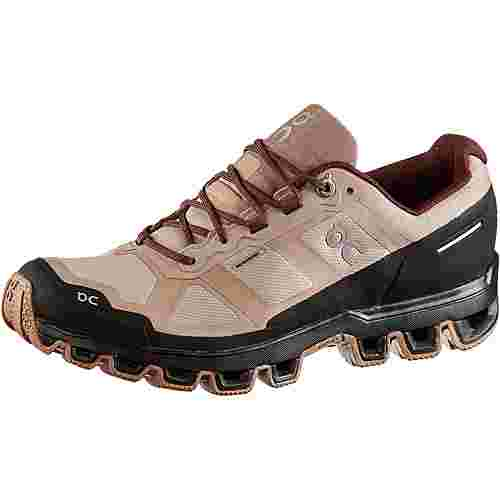 ON Cloudventure Waterproof Trailrunning Schuhe Damen rosebrown-mulberry