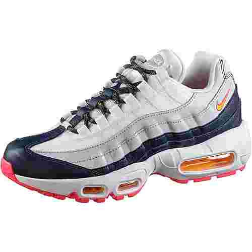 Nike Air Max 95 Sneaker Damen midnight navy-laser orange-pure platinum