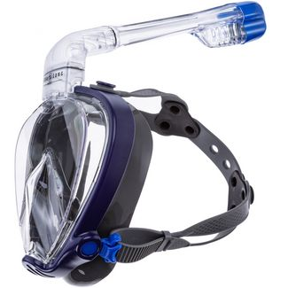AQUA LUNG SMART SNORKEL TAUCHMASKE Schnorchelset navy blue grey