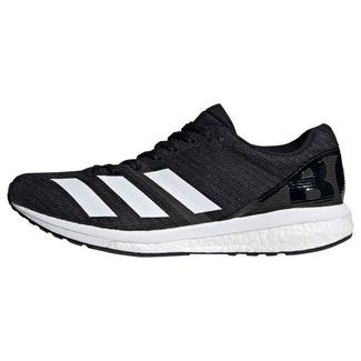 adidas Adizero Boston 8 Schuh Fitnessschuhe Herren Core Black / Cloud White / Grey Six