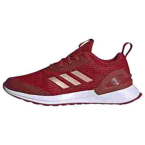 adidas RapidaRun X Schuh Sneaker Kinder Active Maroon / Copper Metalic / Semi Coral