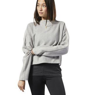 Reebok Training Essentials Sweatshirt Sweatshirt Damen Medium Grey Heather