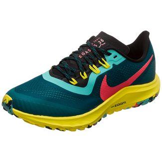 Nike Air Zoom Pegasus 36 Trail Laufschuhe Damen neongelb / schwarz