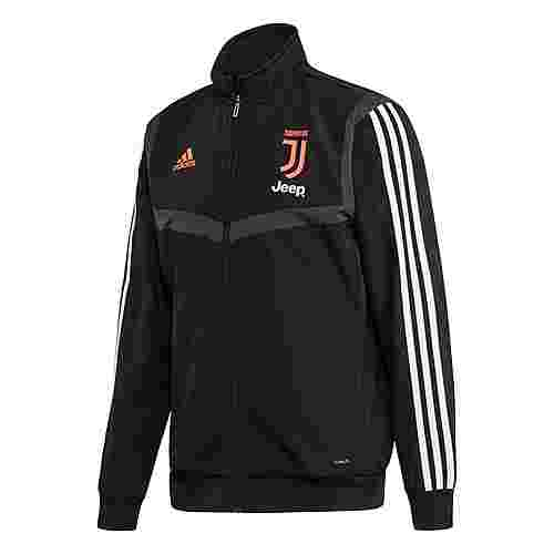 adidas Juventus Turin Präsentationsjacke Trainingsjacke Herren Black / Dark Grey