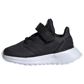 adidas RapidaRun Schuh Sneaker Kinder Core Black / Carbon / Cloud White