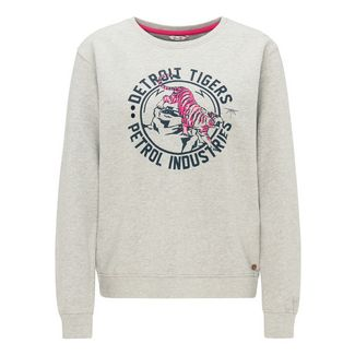 Petrol Industries Sweatshirt Damen Light Grey Melee