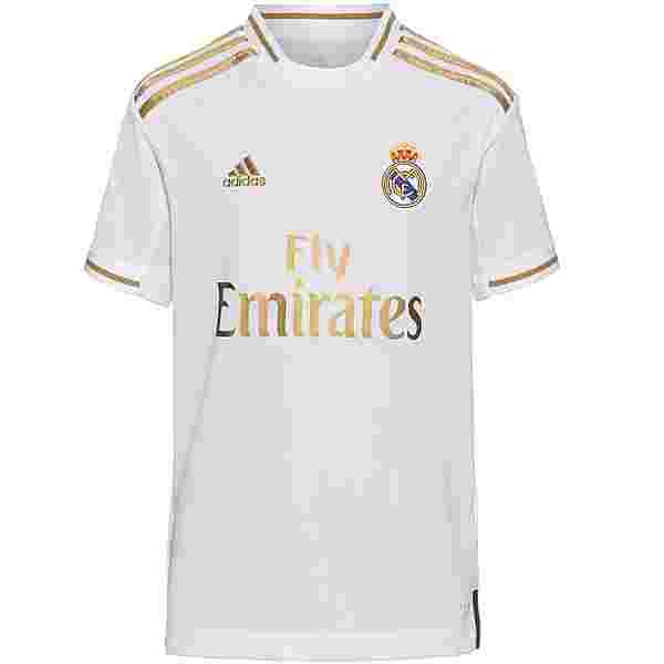 adidas Real Madrid 19/20 Heim Trikot Kinder white
