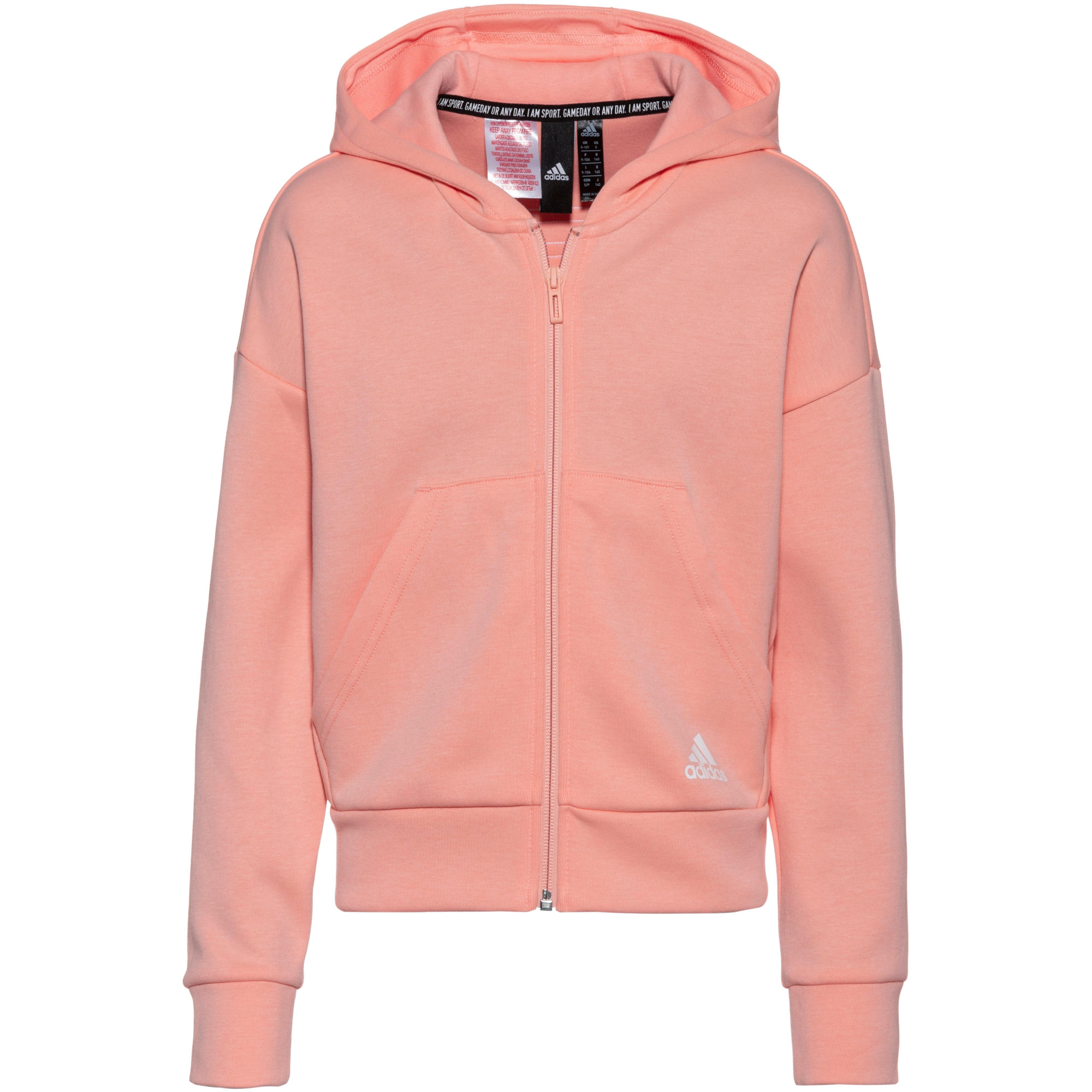 Adidas Trainingsjacke Damen glow pink im Online Shop von