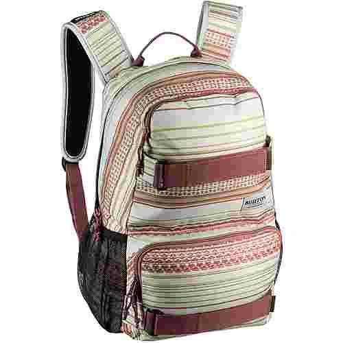 Burton Rucksack Treble Yell Daypack aqua gray revel stripe print