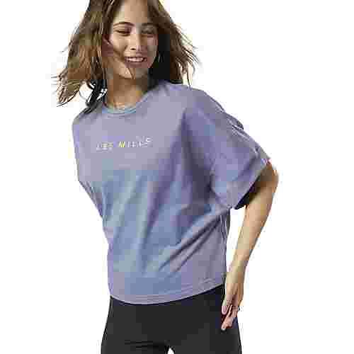 Reebok LES MILLS® Performance Crop T Shirt Funktionsshirt