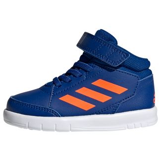 adidas AltaSport Mid Schuh Sneaker Kinder Collegiate Royal / Solar Orange / Cloud White